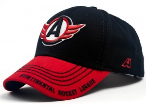 HC Avtomobilist Yekaterinburg KHL Russian Hockey Club Hat Cap, black/red