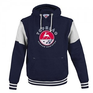 Hockey Club Torpedo Nizhny Novgorod Hoody Sweatshirt, KHL licensed, dark blue