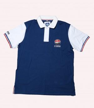 HC Torpedo Nizhny Novgorod Pique Polo-shirt with logo, KHL licensed, blue/white