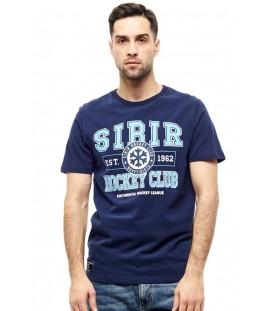 HC Sibir Novosibirsk KHL Russian Hockey Club T-Shirt, dark blue