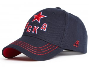 CSKA Moscow KHL hat, dark blue