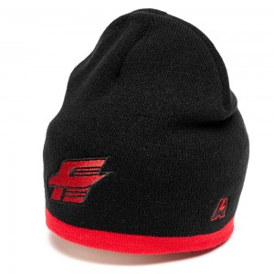 HC Avangard KHL knitted beanie hat, black, one size