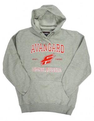 "HC Avangard ""Omsk Russia"" KHL sweatshirt, gray, size L"