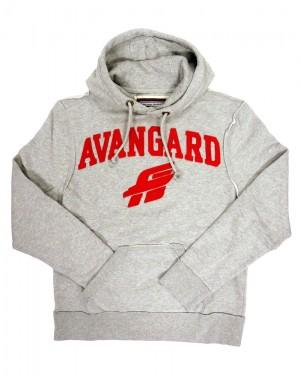 HC Avangard Omsk KHL Vintage Hoodie Sweatshirt, gray, size M