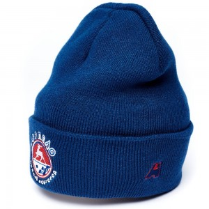Hockey Club Torpedo Nizhny Novgorod cuffed beanie hat with logo