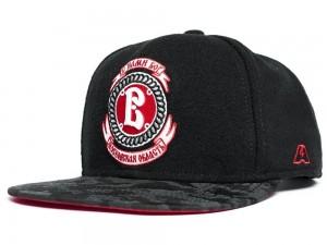 HC Vityaz Podolsk, KHL Flat Bill Snapback hockey cap, black